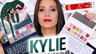KYLIE COSMETICS HOLIDAY COLLECTION | REVIEW plus HOLIDAY EDITION BUNDLE