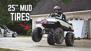 Return of the Monster Truck Go Kart!