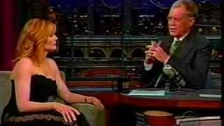 Marg on The Letterman show