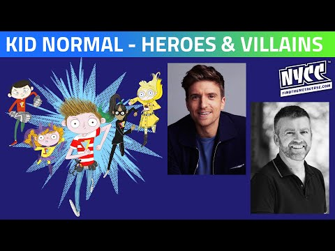 Kid Normal | Heroes and Villains with Greg James and Chris Smith
