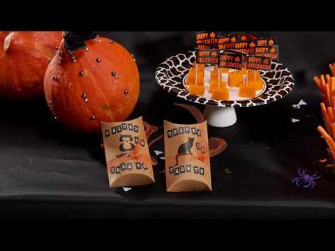 Bus eller godis! Fina askar till Halloween