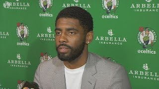 "Kyrie Irving Leaving Boston Celtics? Says ""Contract Extension Doesn"