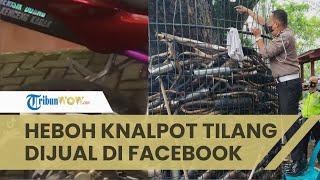 Viral Video Knalpot Sitaan Diduga Dijual Lagi di Marketplace, Ini Penjelasan dari Polrestabes Medan