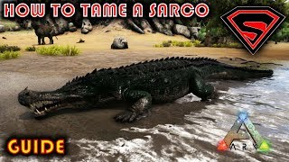 ARK HOW TO TAME A SARCO 2019 - EVERYTING YOU NEED TO KNOW ABOUT TAMEING A SARCO IN ARK