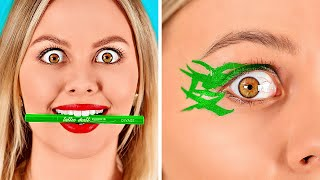 GENIALES MANERAS DE REUTILIZAR MAQUILLAJE    Formas divertidas de arreglar el maquillaje por 123 GO!