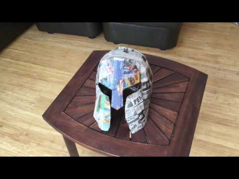 How to Make a Cardboard Spartan Helmet