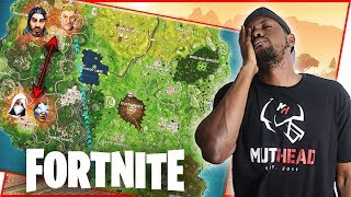 THE WORST START TO A SQUADS MATCH POSSIBLE! - Fortnite Season 4 Gameplay