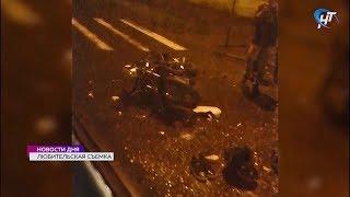 ДТП с участием 17-летнего мотоциклиста произошло на Большой Московской