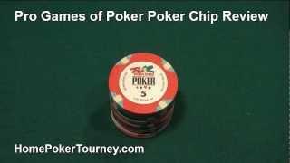 Pro World Games Of Poker Poker Chip Review