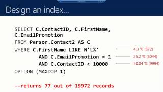 Back to Indexes – The Original Culprit – Amit Bansal's TechEd Europe 2013 session!