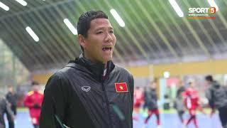 Nguyễn Anh Đức cảm thấy thoải mái khi làm việc với thầy Park | AFF Cup 2018