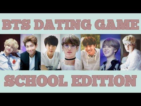 BTS DATING GAME #2 SCHOOL EDITION