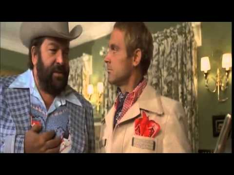 Bud Spencer Terence Hill - la cena con le russe!!!