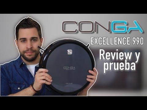 Conga Excellence 990 | ¿Mejor Robot Aspirador Barato 2018? | Review y Prueba Real