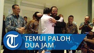 Prabowo Temui Paloh Selama Hampir Dua Jam