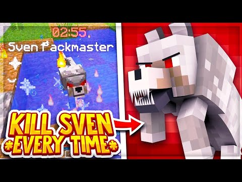 HOW TO KILL SVEN BOSS EVERYTIME (AFTER BUFF) | Hypixel Skyblock