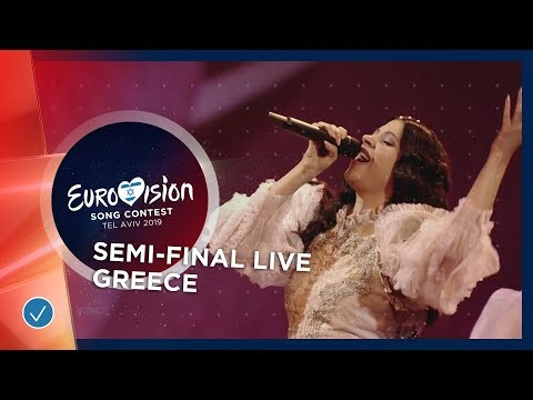 Greece - LIVE - Katerine Duska - Better Love - First Semi-Final - Eurovision 2019