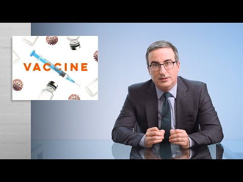 Covid Vaccines: Last Week Tonight with John Oliver