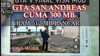 GTA San Andreas Cuma 300MB Bisa Dimainkan Di Android RAM 512 MB INI CARA INSTALLNYA !!!