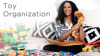 Tia Mowry's 4 Toy Organization Hacks | Quick Fix