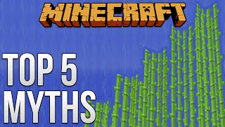 Top 5 Biggest Myths [Minecraft Myth Busting 80]
