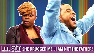 She drugged me...I am not that father! | The Maury Show
