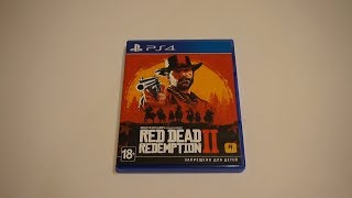 Обзор на диск Red Dead Redemption 2