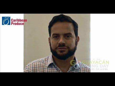 Guayacán Giving Day presenta Gualberto Rodríguez de Caribbean Produce Exchange y su razón para dar