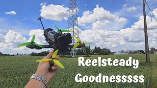 Relaxing FPV flight in nature! Cinematic Reelsteady Goodnesssss!