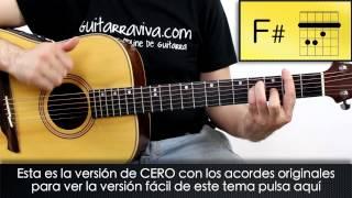 Como tocar CERO de Dani Martín (Acordes originales) versión DISCO cover