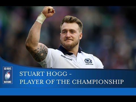 Stuart Hogg: RBS 6 Nations Player of Championship 2016 | RBS 6 Nations