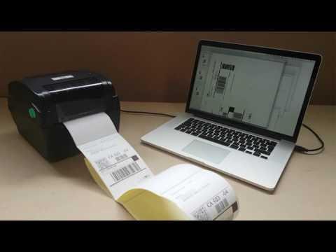 Peninsula Mac OSX Thermal Label Printer Drivers video thumbnail