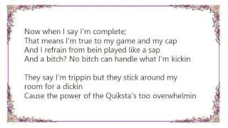 DJ Quik - America'z Most Complete Artist Lyrics