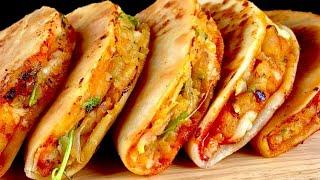 உருளைக்கிழங்கு இருந்தா, இட்லி தோசை இல்லாத காலை Breakfast/snacks ரெடி  Crispy Potato Tacos Mexicana