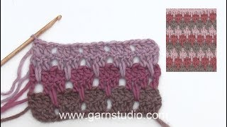 How To Crochet Larksfoot Stitches