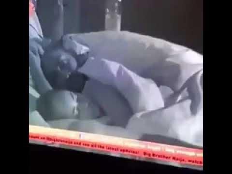 #Bigbrother Naija 2018_Miracle and Nina caught on camera having sex