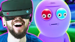 THE FUNNIEST GAME I HAVE EVER PLAYED | Trover Saves The Universe (VR)