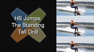 #6 Boat Wakeboard Intermediate – HS jumps: standing tall drill