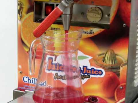 Automatic Pomegranate Juice Machine, the easy way out