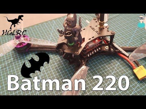 hglrc-batman220--review-setup--flight