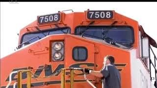 Extrémní Vlaky - Nákladní vlaky. Dokument. Extreme Trains.