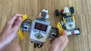 EV3 Car race with voice throttle and FPV camera
