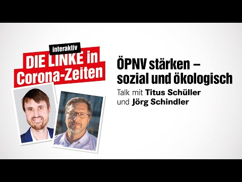 Talk mit Jörg Schindler – ÖPNV stärken – sozial und ökologisch