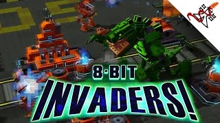 Clip of 8-Bit Invaders!