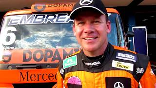 Campeão da Copa Sul, Wellington Cirino detalha Copa Truck