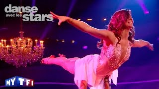 DALS S06 - Priscilla Betti et Christophe Licata dansent un mambo sur ''I've Had The Time of My Life""