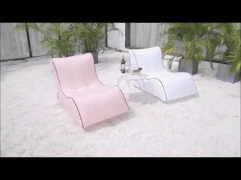 Aufblasbarer Liegestuhl Lounge Sessel