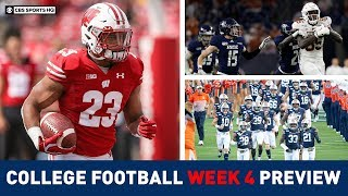 The Picks for the BEST College Football Games of Week 4 | CBS Sports HQ