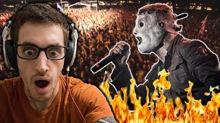 Slipknot - Spit It Out Live At Download 2009 || HIP-HOP HEAD REACTS TO METAL