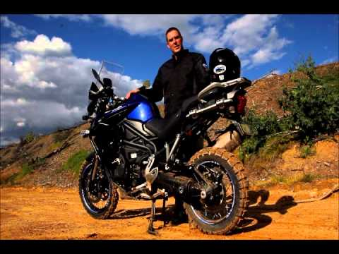 2013 Triumph Tiger Explorer 1200 ABS and Traction control test!